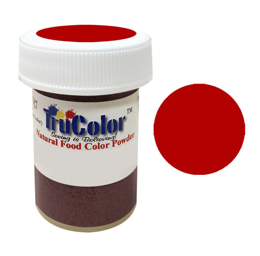 Trucolor - Super Red Natural Food Paint & Airbrush Powder - 10 Grams