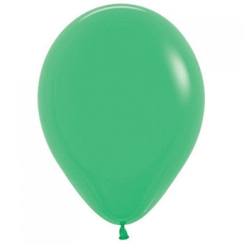 Decrotex 100 Pack Standard/Fashion Light Green 30cm Balloon