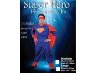 COSTUME ADULT SUPER HERO