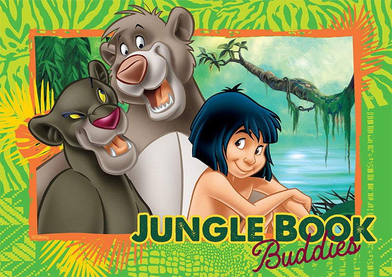 The Jungle Book A4 Edible Image