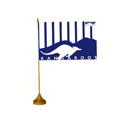 AFL DESK FLAG - KANGAROOS