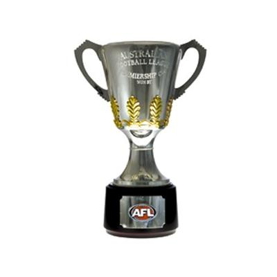 Afl Small Trophy Cardboard Cut Out THICK