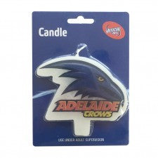 AFL Adelaide Crows Flat Candles