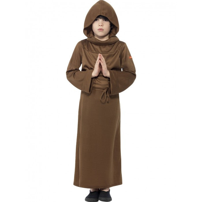 KIDS HORRIBLE HISTORIES MONK COSTUME SIZE M