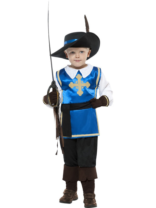 COSTUME MUSKETEER CHILD - LARGE