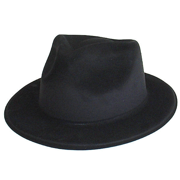 Blues Bros Flocked Hat