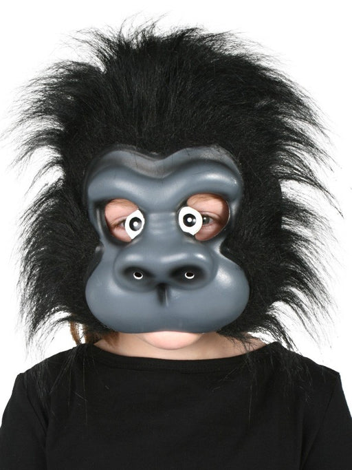 Gorilla EVA Face Mask with Plush Hair
