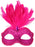 EYE MASK DANIELLA HOT PINK