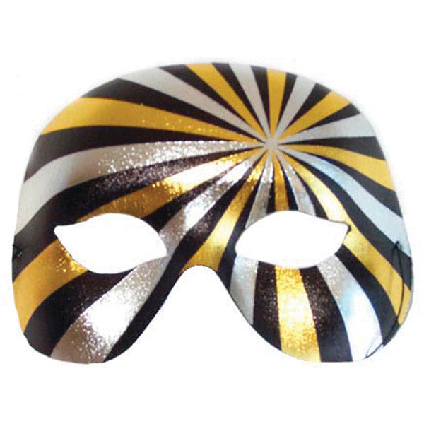 EYE MASK PSYCHO BLACK/SILVER/GOLD