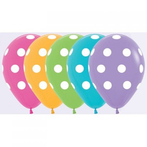 Polka Dot Print Balloon