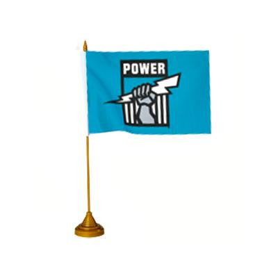 AFL DESK FLAG - PORT ADELAIDE