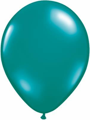 "QUALATEX BALLOONS PEARL FOREST GREEN 28CM/11"" 100 PACK"