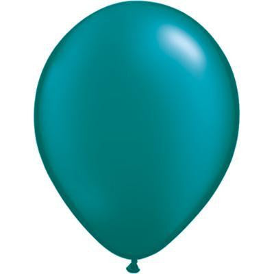 QUALATEX BALLOONS PEARL TEAL 28CM 100 pack