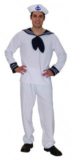 MENS COSTUME SAILOR MAN SIZE M/L