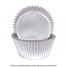 Cakecraft | 700 Silver Foil Baking Cups | Pack Of 72