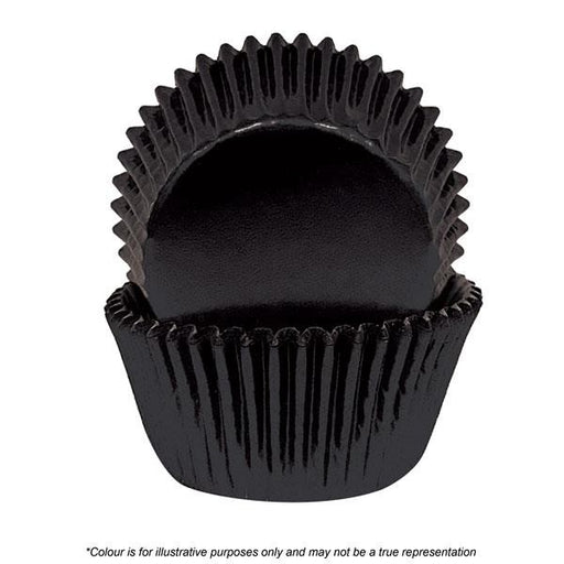 Cakecraft | 700 Black Foil Baking Cups | Pack Of 72