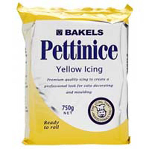 Bakels - Yellow Icing 750g