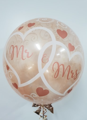 Balloon Decor - Personalised Lustre Deco Bubble