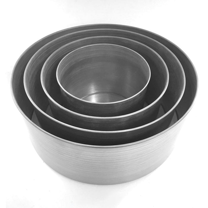 5 INCH ROUND SET - 4 PIECE - HIRE
