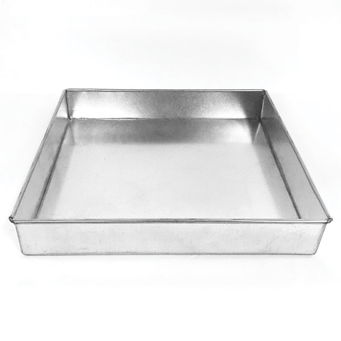 1.5 INCH SQUARE PAN - 10 INCH - HIRE