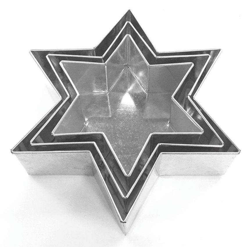 6 POINT STAR PAN SET - 3 PIECE - HIRE