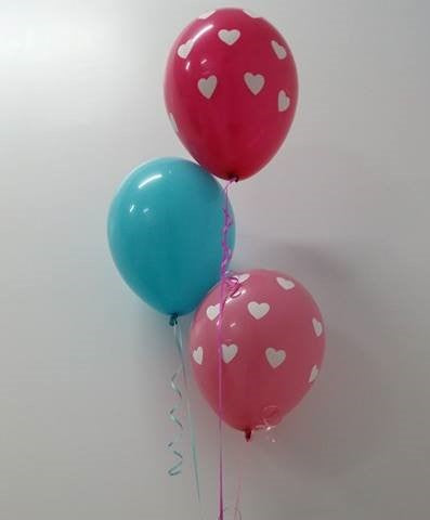"3 Balloon Super Bouquet (All 18"" Balloons)"