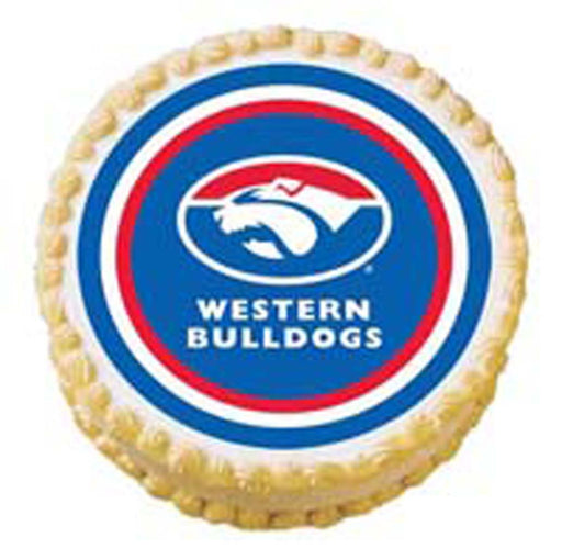 Afl Bulldogs Edible Image
