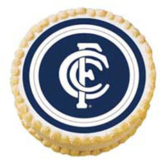 Afl Carlton 135mm Edible Image