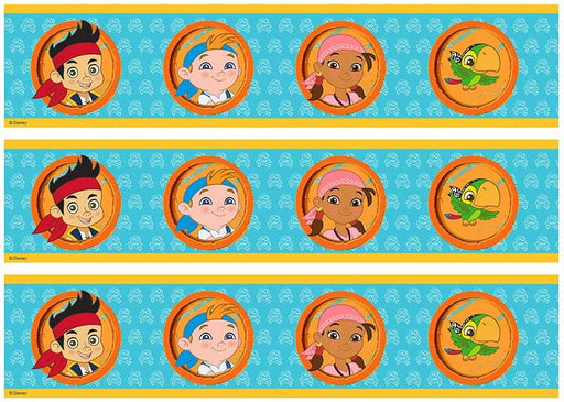 Disney Jake And The Never Land Pirates - Cake Strips A4 Edible Image