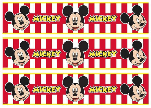 Mickey Mouse - Cake Strips A4 Edible Image