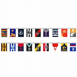 AFL All TEAMS Bunting