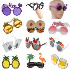 Party Glasses Novelty Assorted
