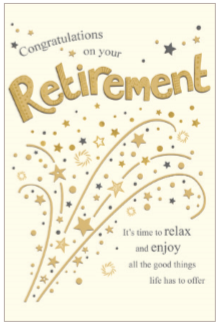 Retirement Elegance Greeting Card