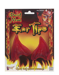 Ear Tips Pointed Red Devil