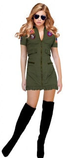 Air Force Female Pilot Adult Costume