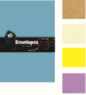 Envelope Small Pale Blue 15 Pack