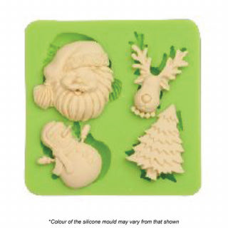 Christmas Favourites Silicone Mould