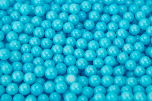 Cachous/Balls Pearl Blue 5mm Sprinkles 200g