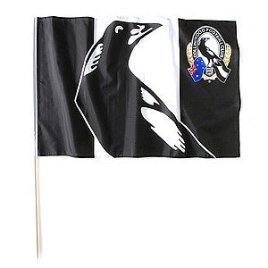AFL LARGE FLAG - COLLINGWOOD