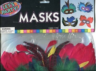 4 Pack Party Masks