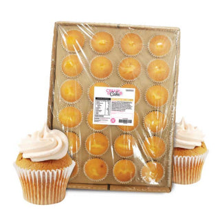Frozen Naked Cupcakes Tray Of 24