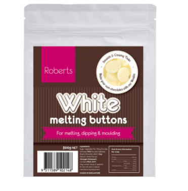 White Melting Buttons 300g