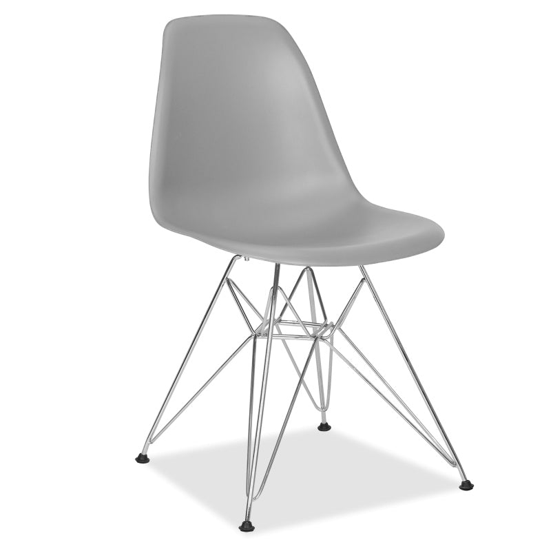 Dining Chair- Plastic- PC-016WP-M-C - ebarza