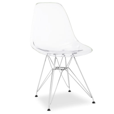 Dinning Chair- Plastic- MS0038-M-C - ebarza