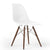 Dining Chair- Plastic- PC-016WP-Wood-W - ebarza