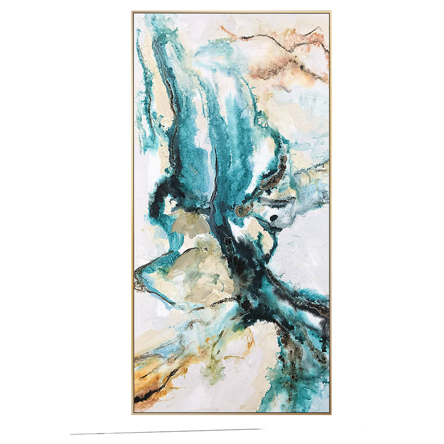 Handpainted Art Painting with 160X80 Cm  frame SOAAP0003