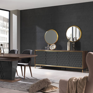 Gold Sideboard/Console  GOLD001