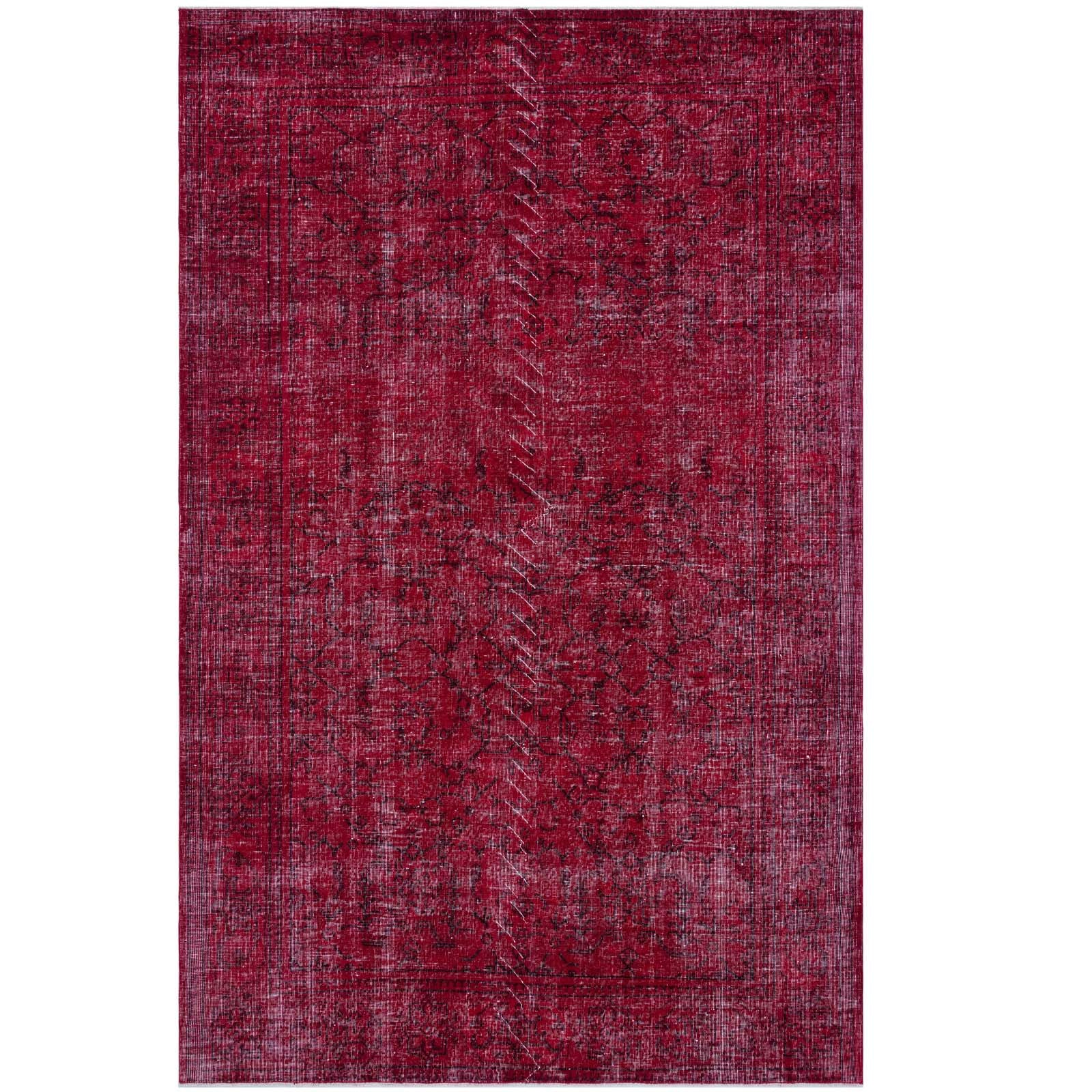 Hali 192X288 CM Bursa Handmade over dyed rug 1417