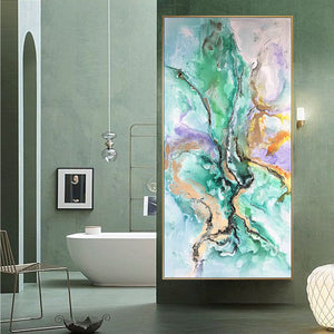 Handpainted Art Painting with 160X80 Cm  frame SOAAP0005