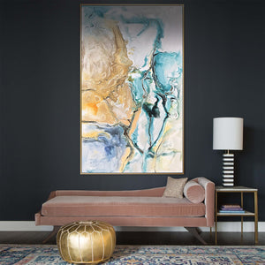 Handpainted Art Painting with 160X80 Cm  frame SOAAP0007